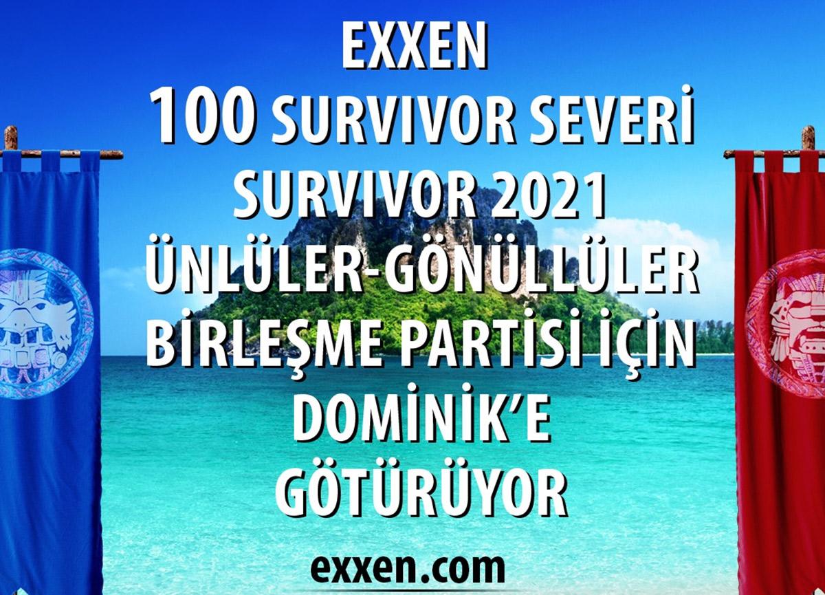 Survivor birleşme partisi ne zaman? Survivor 2021 Ünlüler-Gönüllüler birleşme partisi çekilişi başvuru ekranı