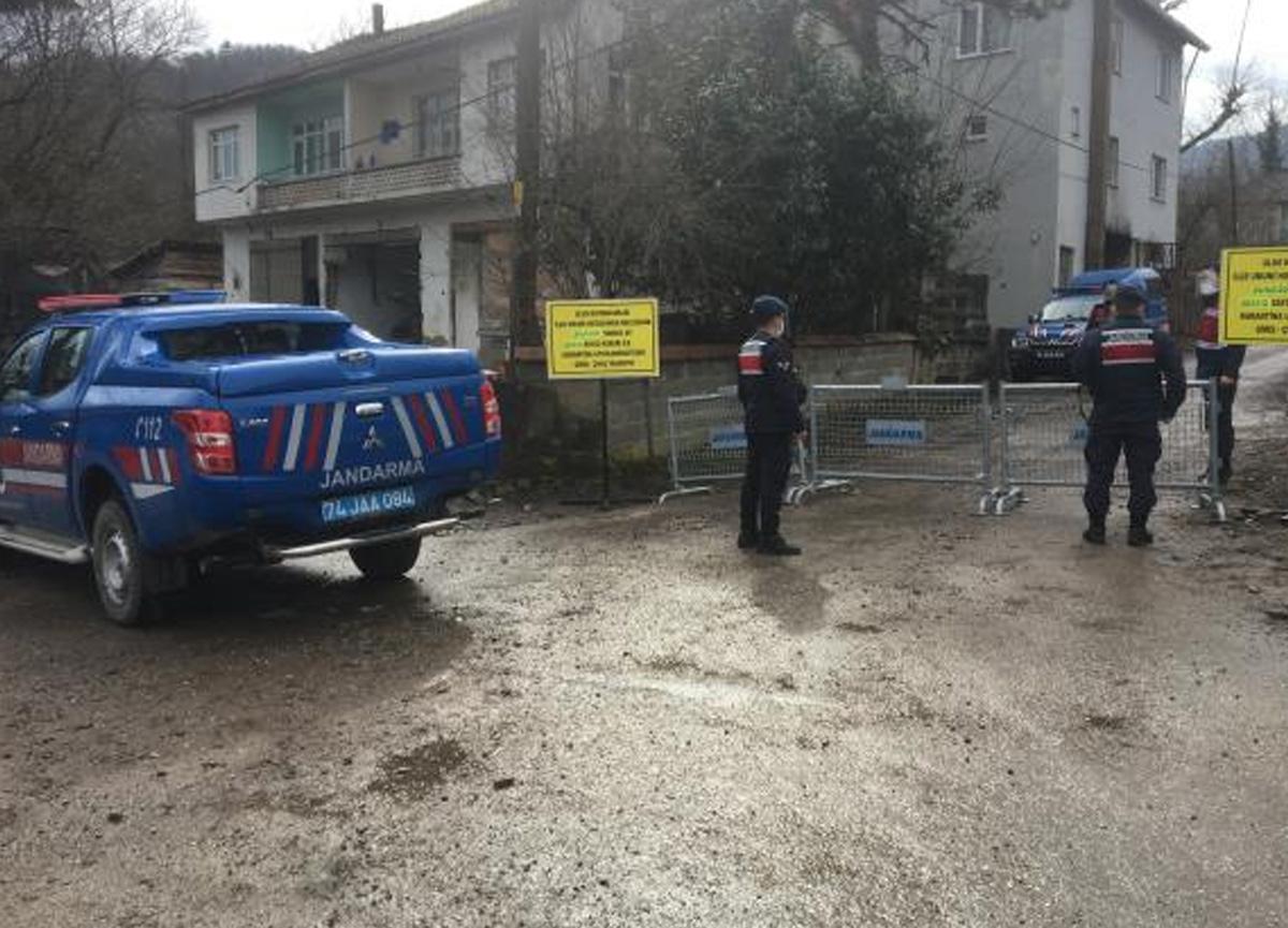 Bartın'da mutasyonlu virüs alarmı! 5 mahalle karantinaya alındı
