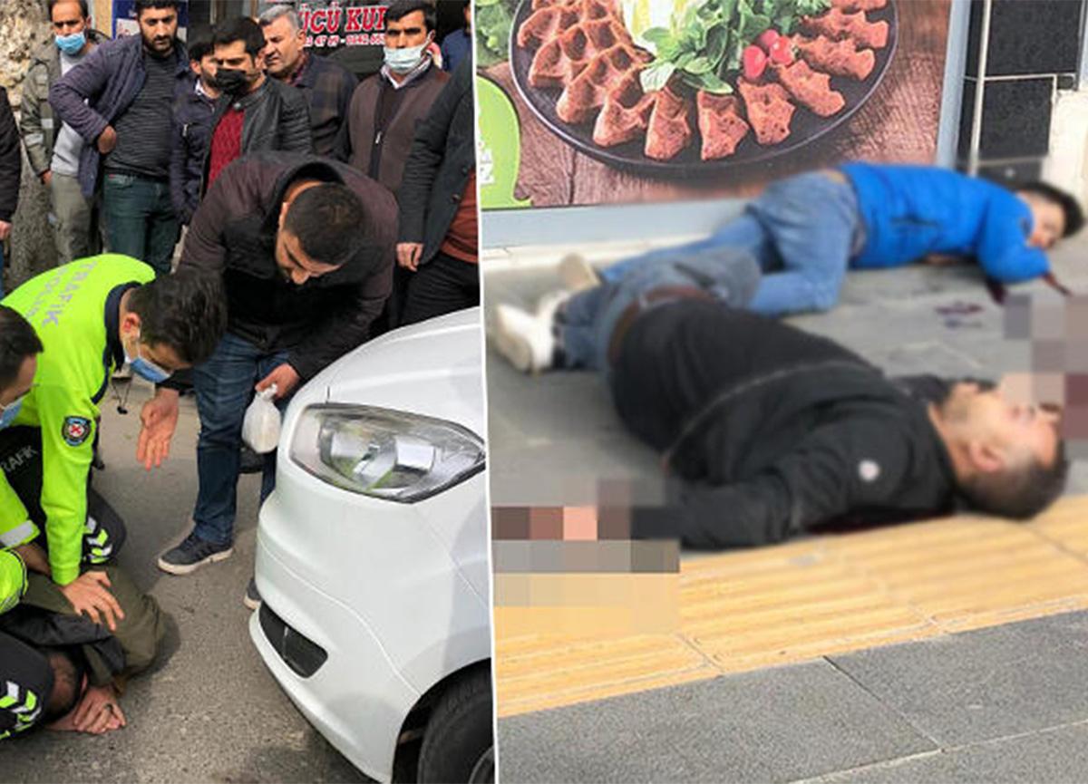 Siirt'te sokak ortasında silahlı kavga! 3 kişi ağır yaralandı