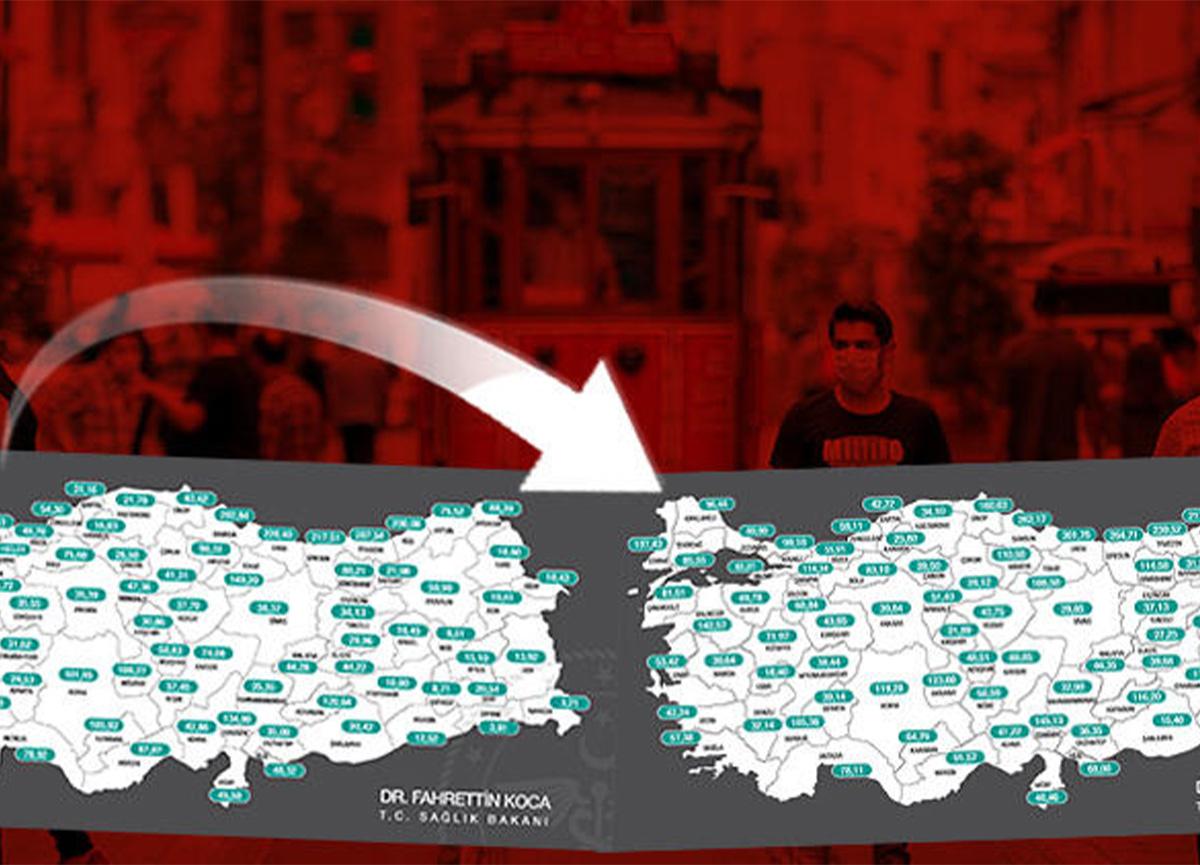 İstanbul'un vaka sayılarındaki bir haftalık artış korkuttu