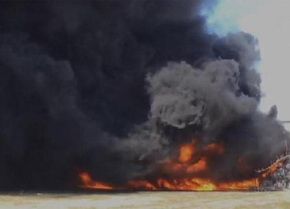 Manisa Dericiler Sitesi'nde yangın çıktı!