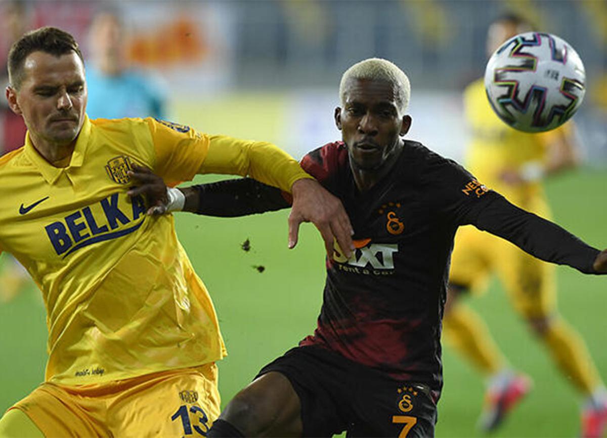 Galatasaray, Ankaragücü'ne deplasmanda 2-1 mağlup oldu