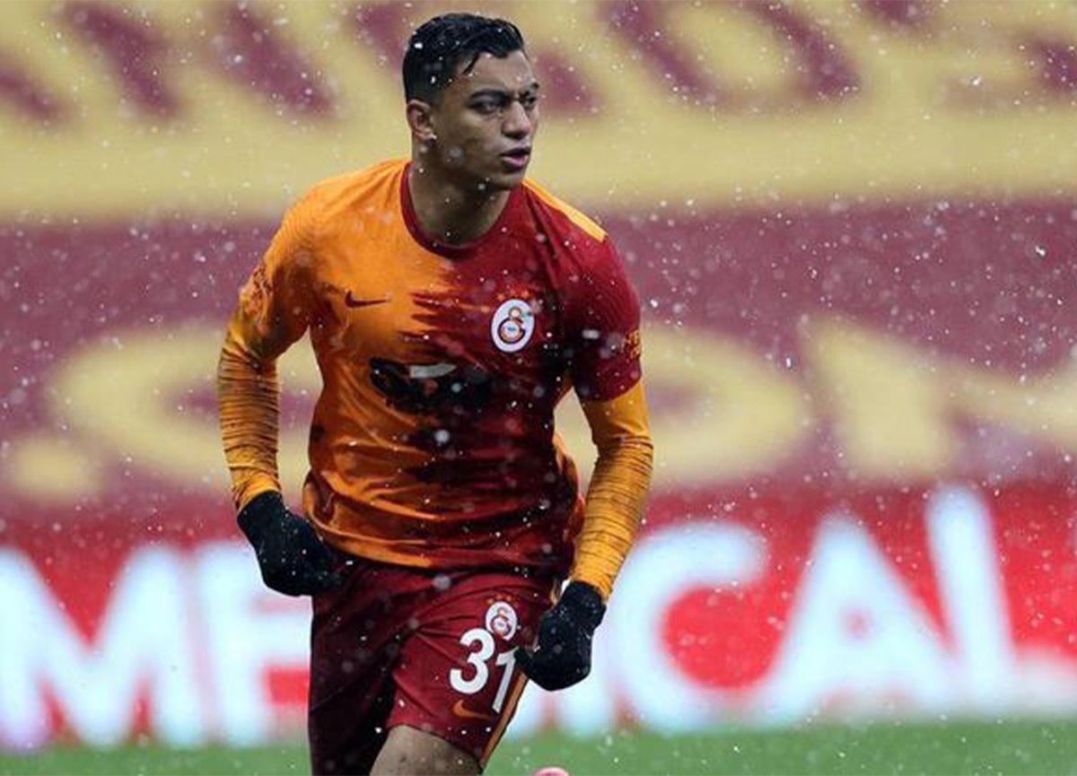 Galatasaray'da Mostafa Mohamed kırmızı kart gördü