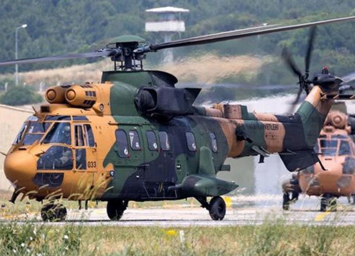 Bitlis'in Tatvan İlçesi'nde askeri helikopter düştü: 11 asker şehit oldu, 2 asker yaralandı