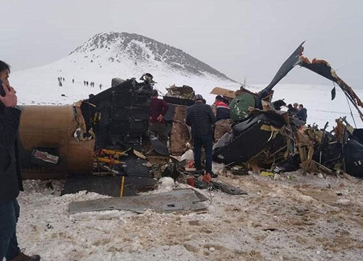 MSB'den Bitlis'teki helikopter kazasına ilişkin son dakika açıklaması!