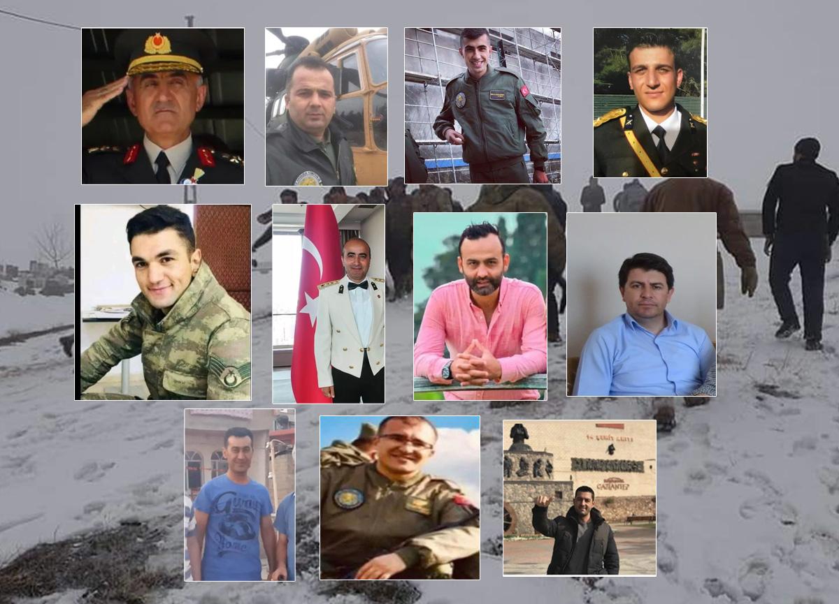 Türkiye yasta... Bitlis Tatvan'da şehit olan askerlerimizin kimlikleri belli oldu