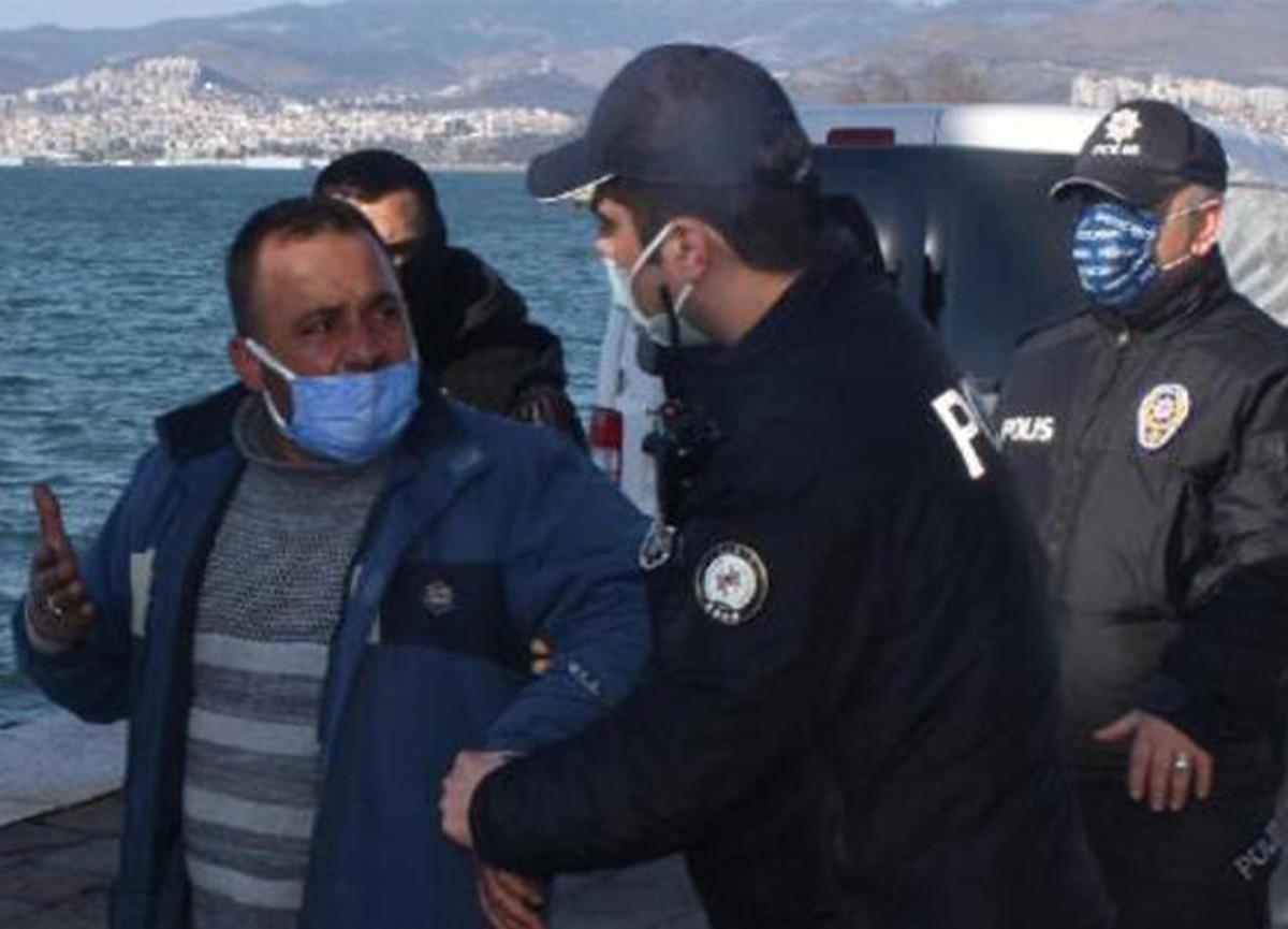 İzmir polisinden değnekçilere ikinci operasyon! Gazetecilere tepki