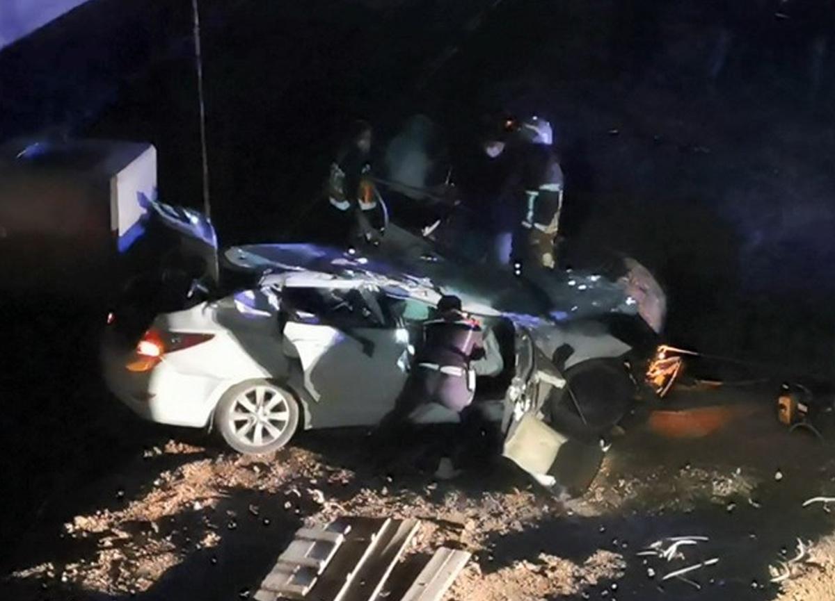 Bursa'da iki genç kaza kurbanı oldu: 10 metreden düşen araçta ölü bulundular