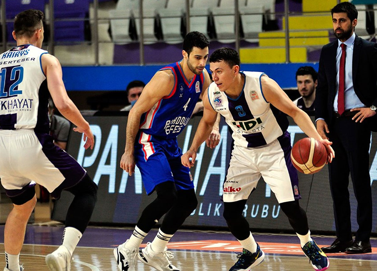 Anadolu Efes deplasmanda HDI Sigorta Afyon Belediyespor'a 103-85 yenildi