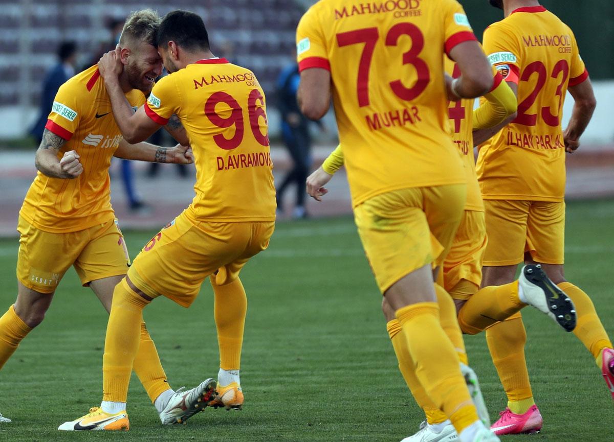 Kayserispor deplasmanda Hatayspor'u 3-1 mağlup etti