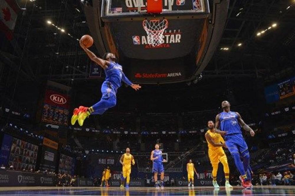 NBA All Star 2021'de LeBron'un takımı Durant'ın takımını yendi