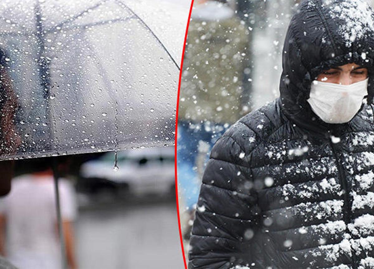 Meteoroloji'nin hava durumu raporu! Tüm yurtta yağış olacak