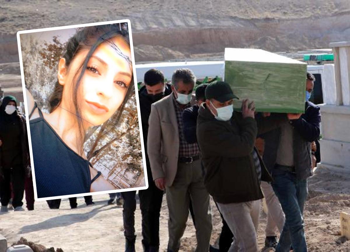 Cansız bedeni folyoya sarılıp kurye ile gönderilmişti: Mervenur Polat gözyaşlarıyla toprağa verildi