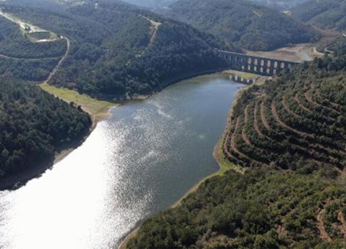 İstanbul'un barajlarında doluluk oranları açıklandı
