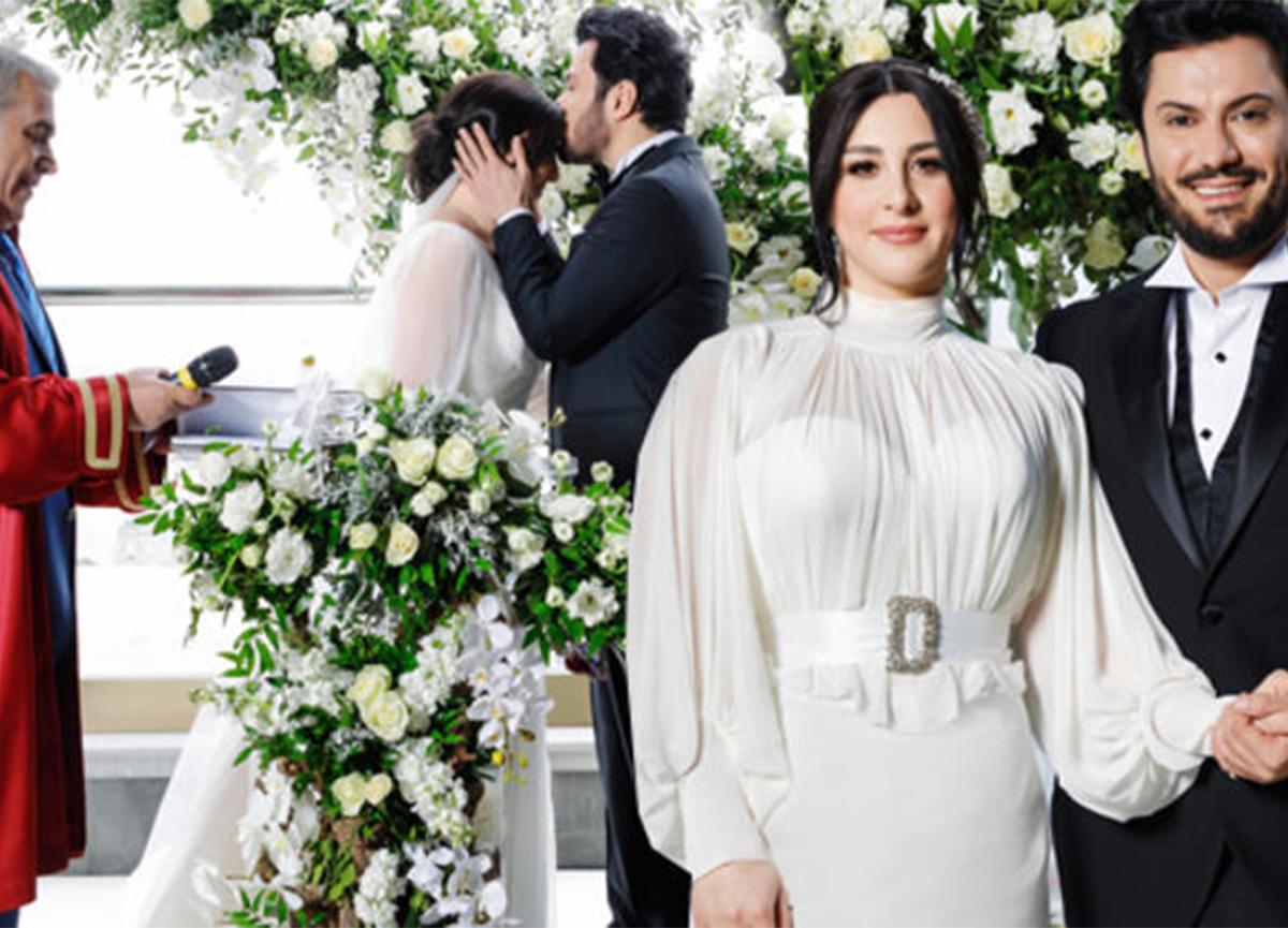 Yasemin Sakallıoğlu ve Burak Yırtar dünya evine girdi
