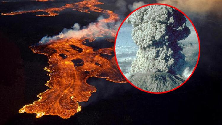 Dünyanın en büyük volkanı 37 yıl sonra uyanıyor!