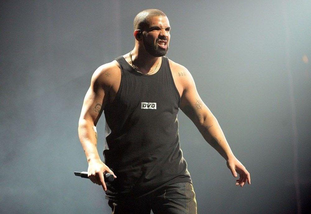 Drake müzik tarihine geçti