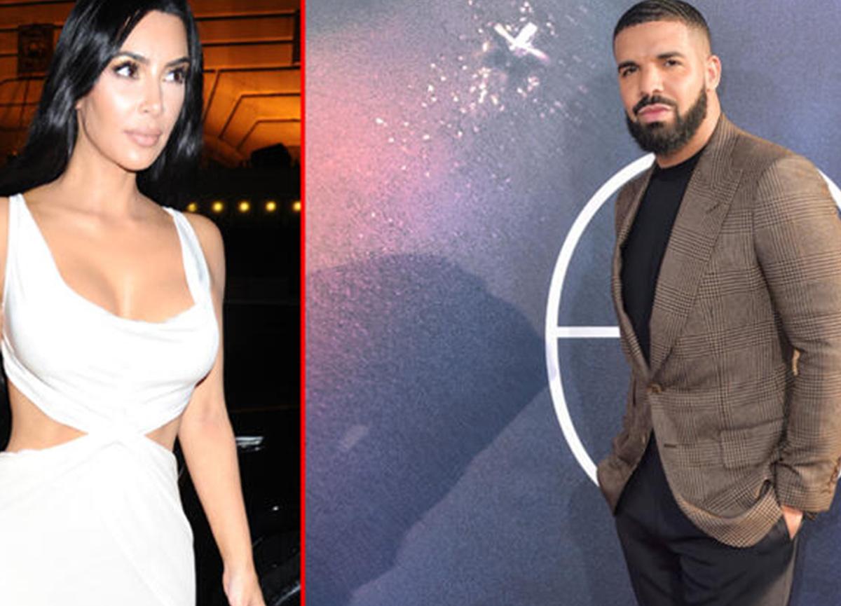 Kim Kardashian boşanmadı ama Drake şimdiden peşine düştü