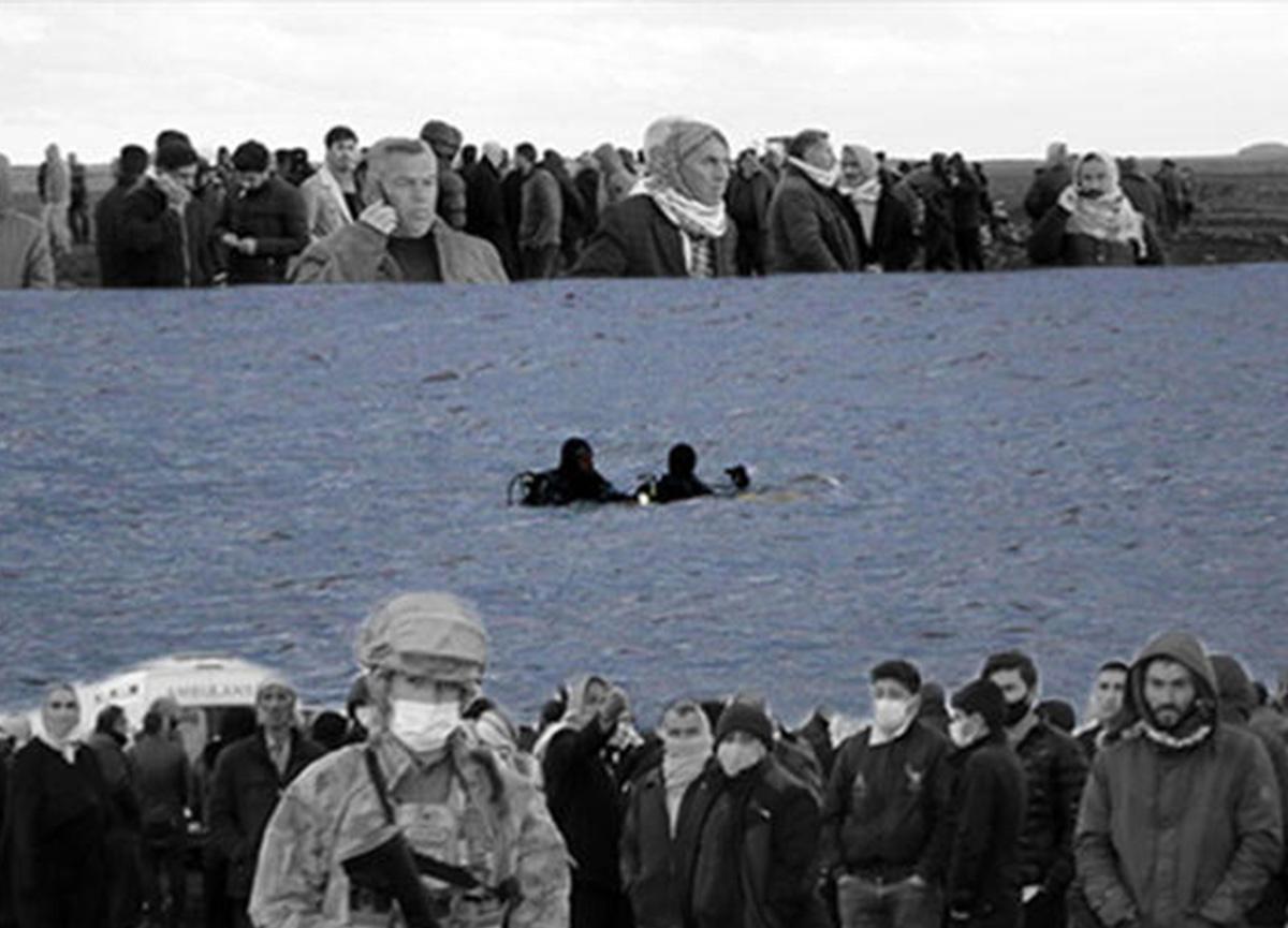 Şanlıurfa'da acı bekleyiş! Gölette alabora olan teknedeki 2 kişi kayıp