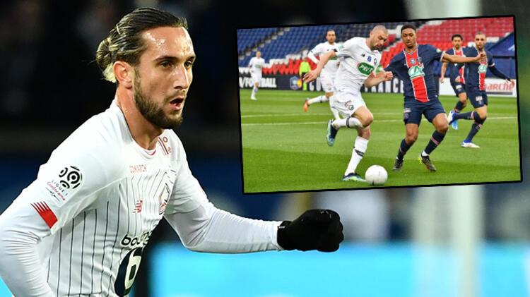 PSG - Lille maçı sonrası Fransızlardan olay Yusuf Yazıcı ve Burak Yılmaz yorumu: Düzensiz, ilginç...