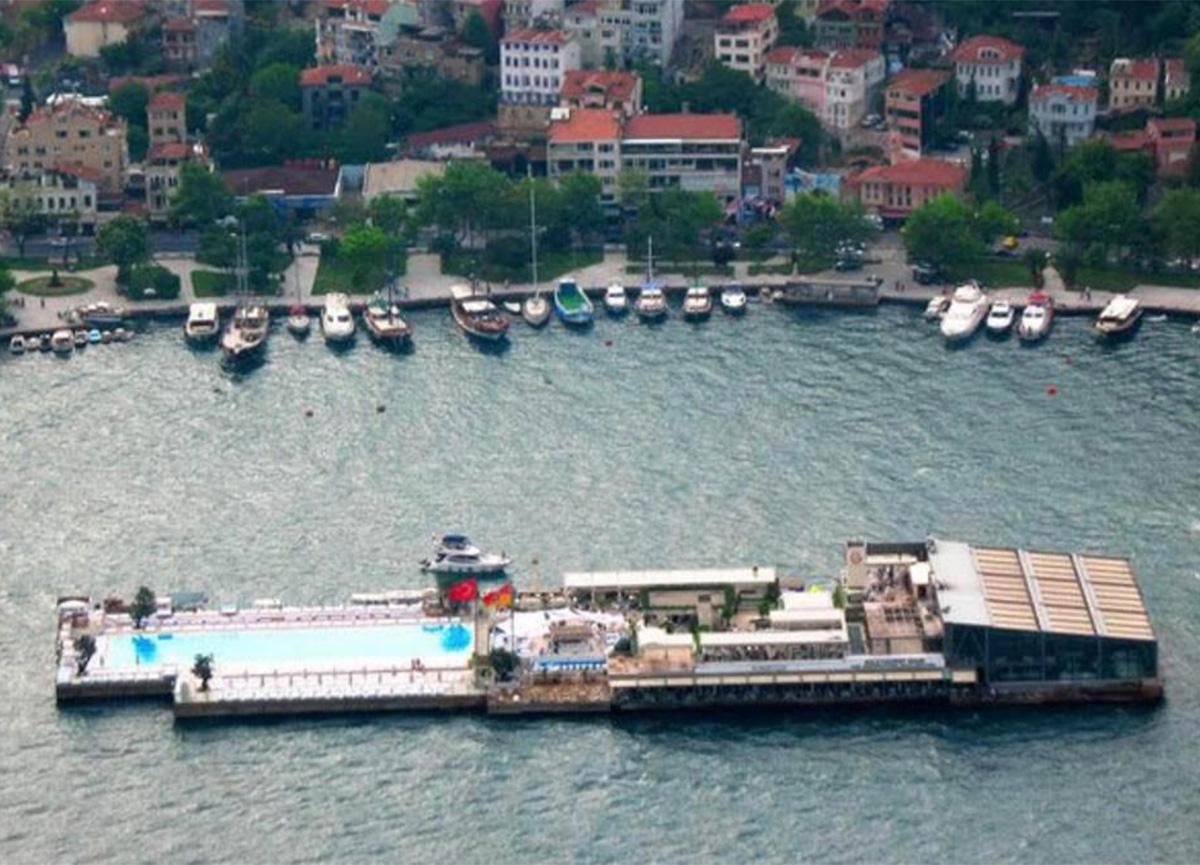 Galatasaray Adası için tahliye kararı