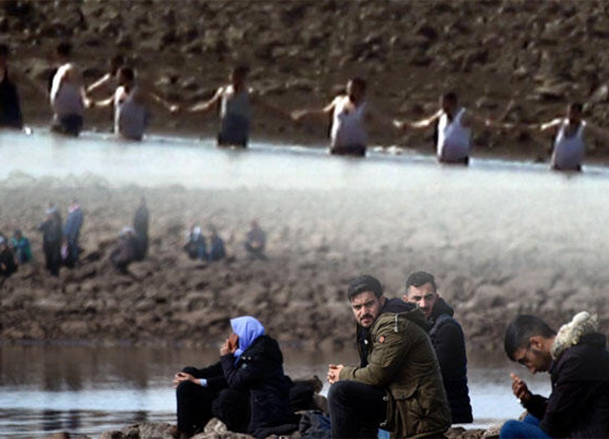 Şanlıurfa'da kahreden bekleyiş! El ele tutuşarak gölette kaybolan gençleri aradılar