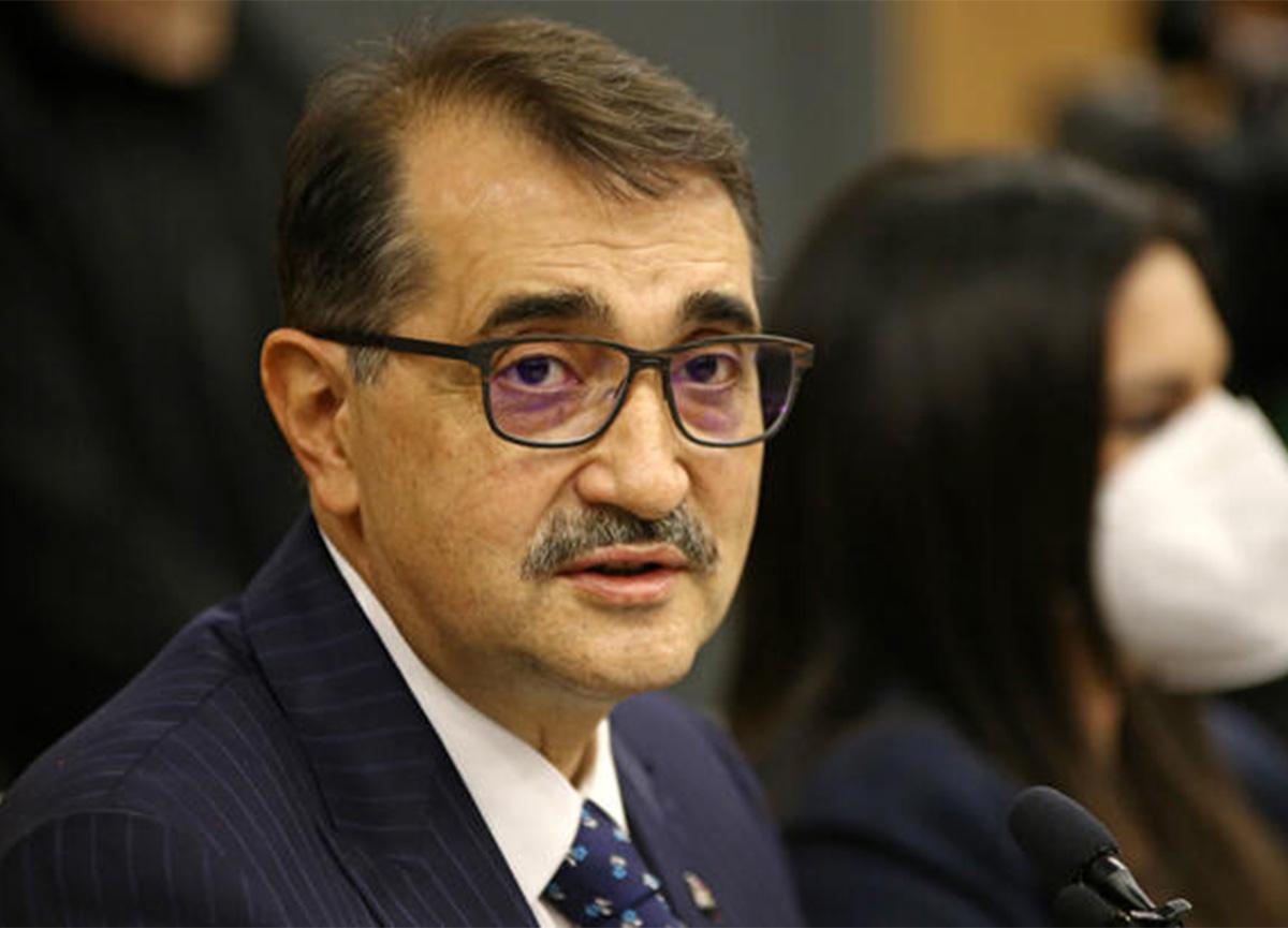Enerji Bakanı Fatih Dönmez'den 6 ilçeye doğal gaz müjdesi