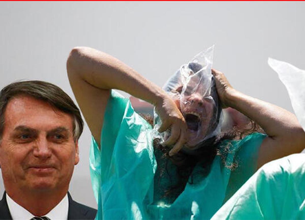 Brezilya'da Devlet Başkanı Bolsonaro'dan koronavirüsle ilgili skandal sözler