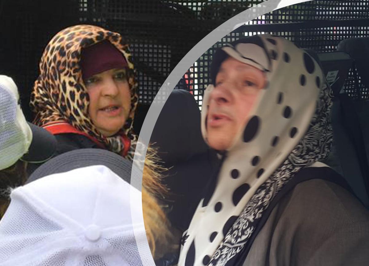 Bankaya maskesiz girmek isteyen anne ve kızı kenti birbirine kattı