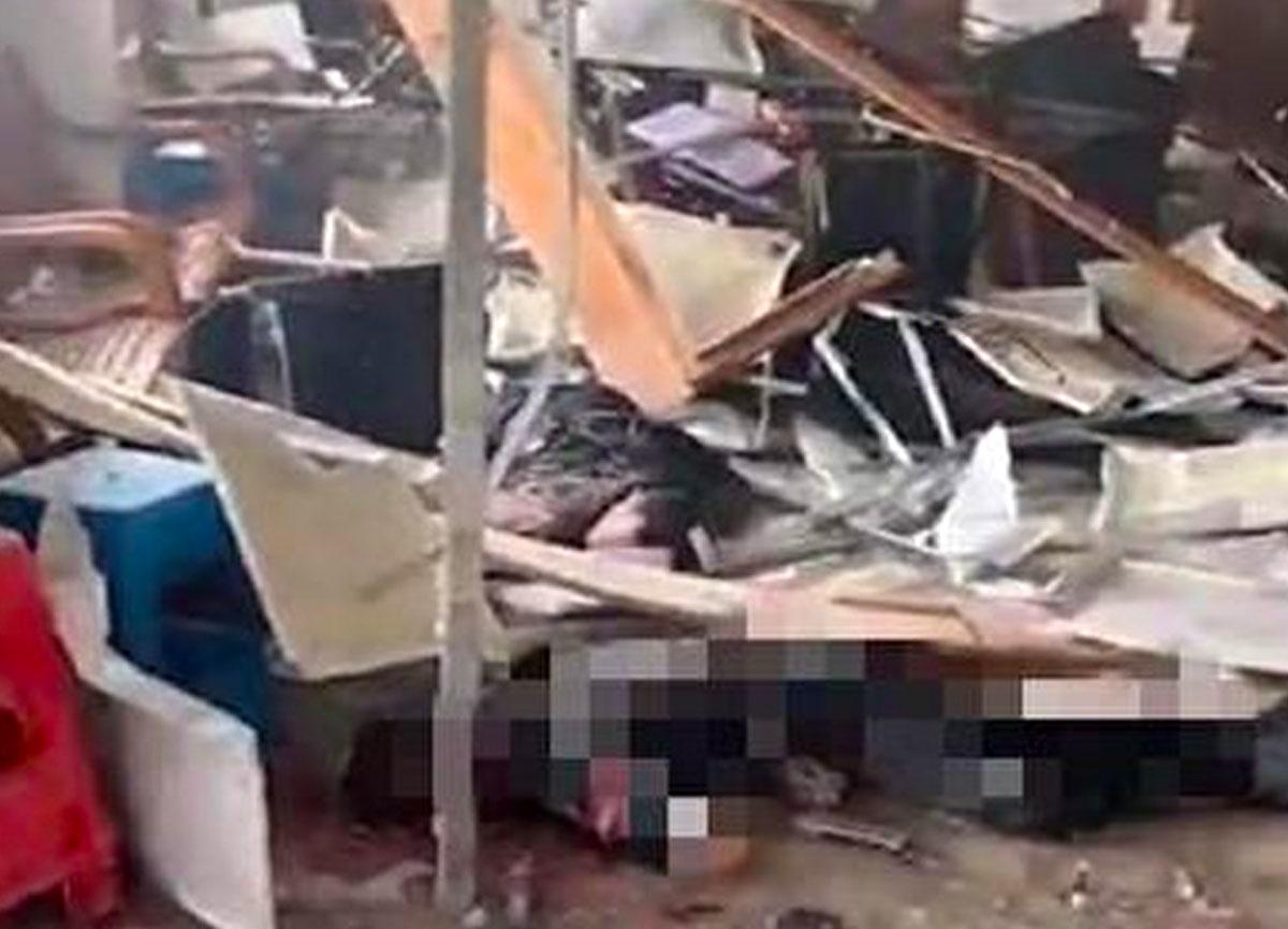 Çin'in Mingjing köyünde patlama meydana geldi! 5 kişi öldü, 5 kişi yaralandı