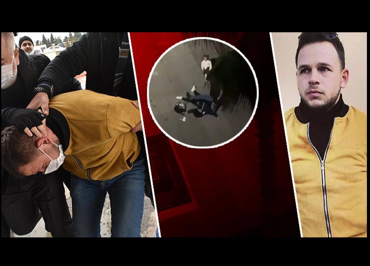 Samsun'da sokak ortasında eşini öldüresiye döven İbrahim Zarap için 18 yıl hapis istendi