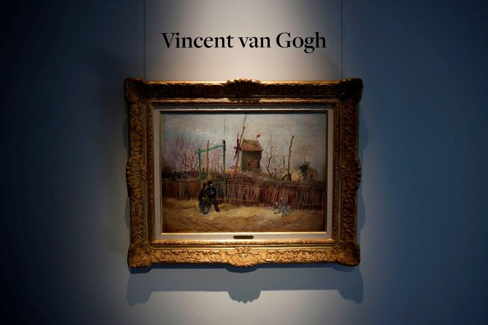 Van Gogh'un Montmartre'deki Sokak Manzarası 13 milyon 91 bin euroya satıldı