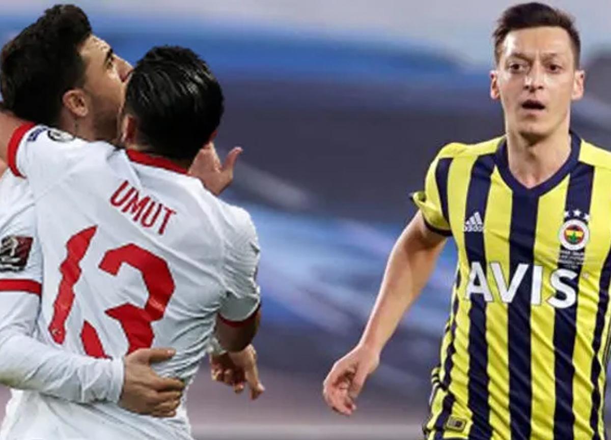 Mesut Özil'den Ozan Tufan paylaşımı! 'Koçum benim helal olsun'