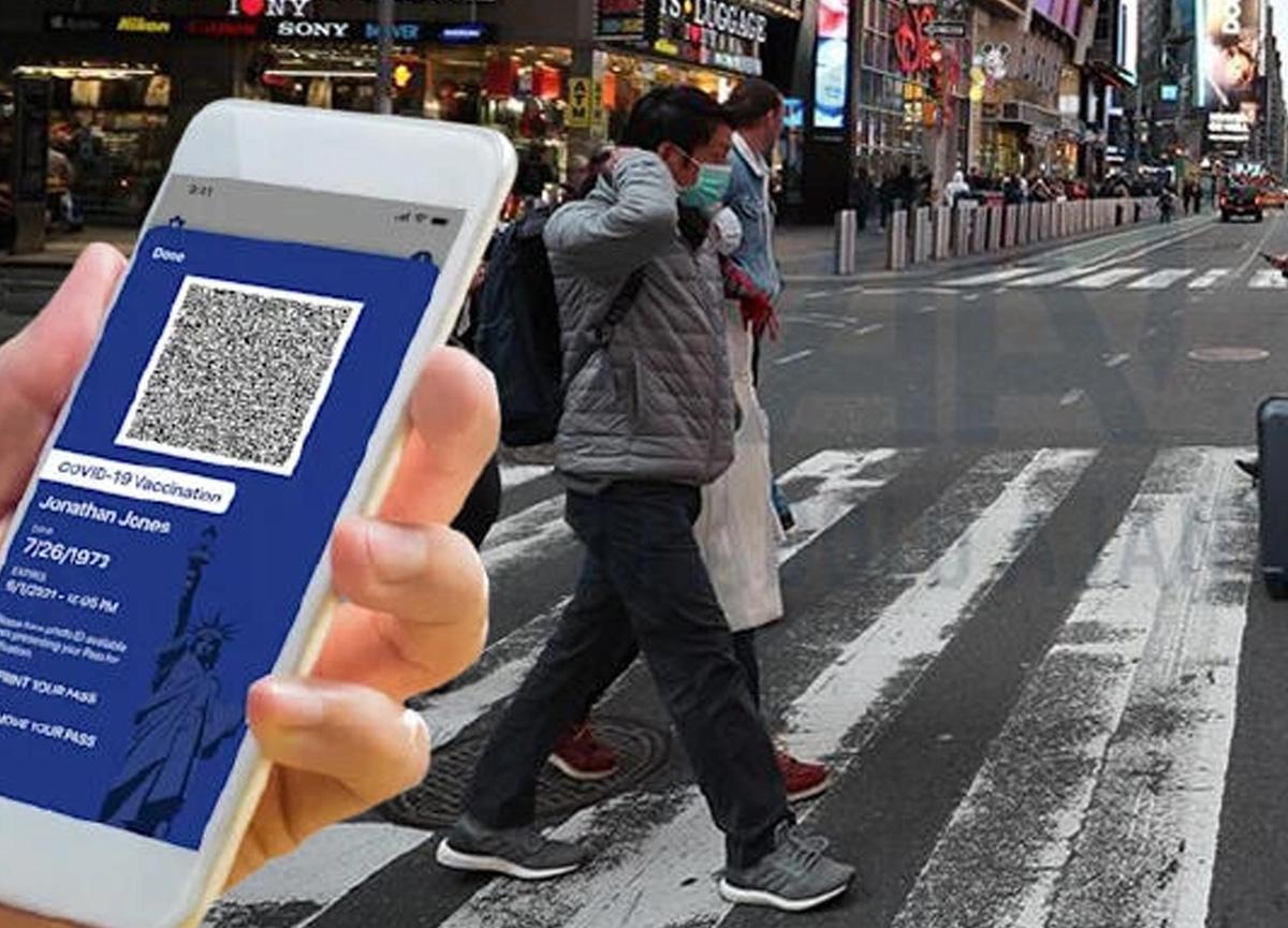Koronavirüs etkisi: Aşı pasaportu kullanıma girdi