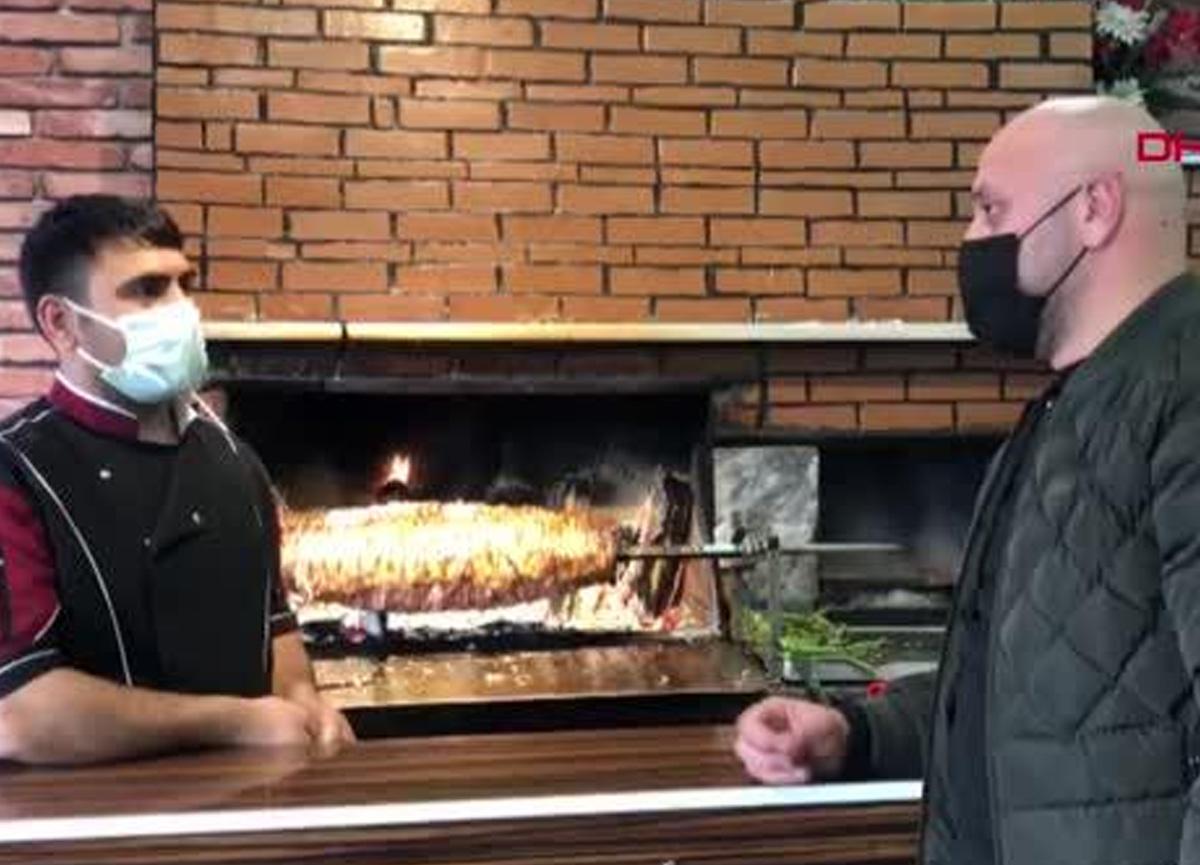 Restoran sahibi, soluk borusuna et kaçan küçük çocuğun hayatını kurtardı