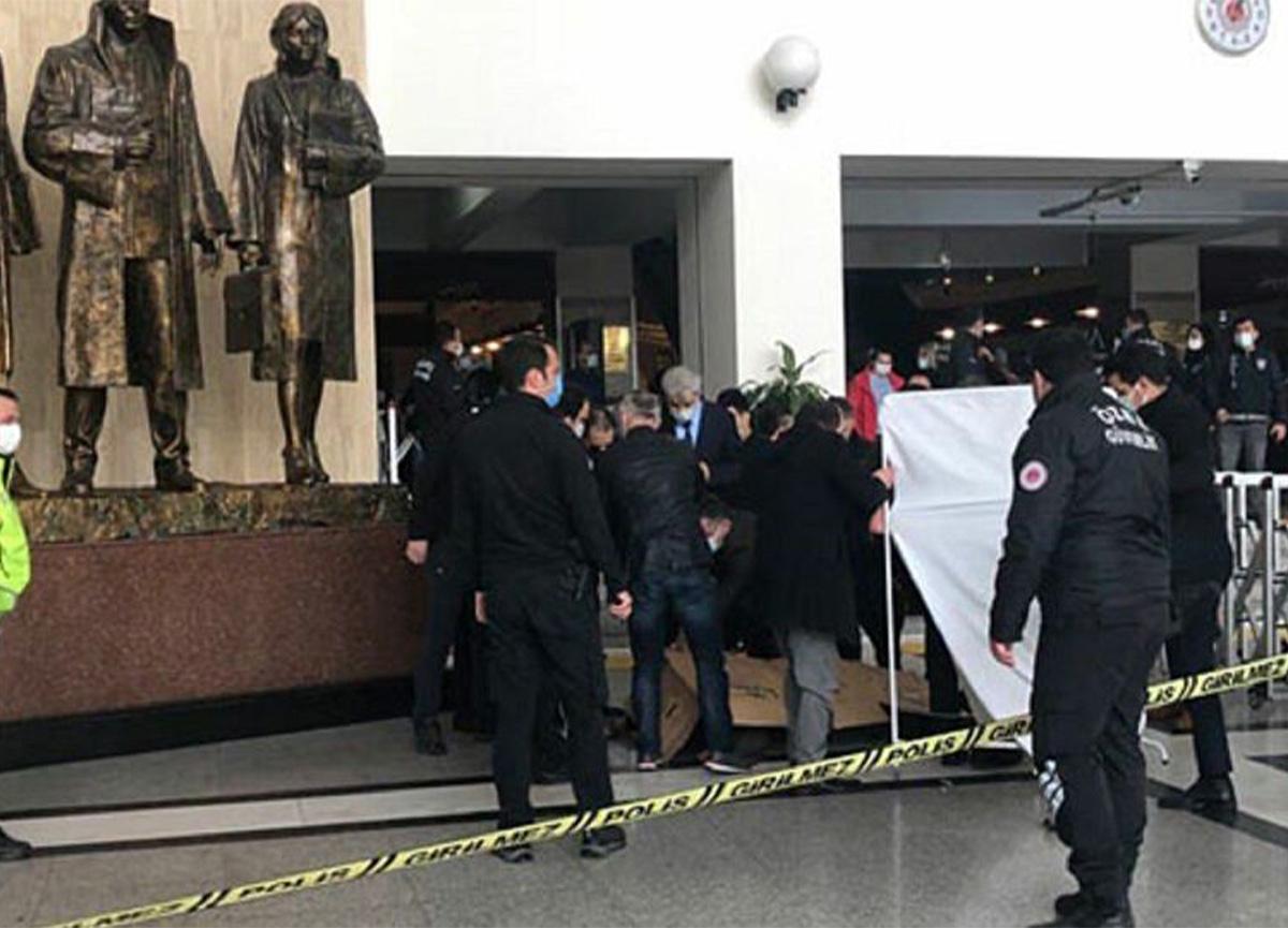 Son dakika: Bakırköy Adalet Sarayı'nda intihar