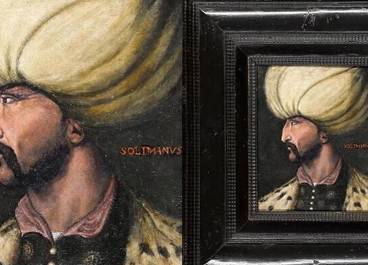 Kanuni Sultan Süleyman'ın portresi 350 bin sterline alıcı buldu