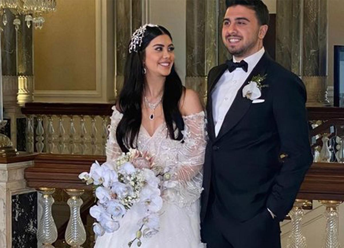 Fenerbahçeli oyuncu Ozan Tufan, Rojin Haspolat ile evlendi!