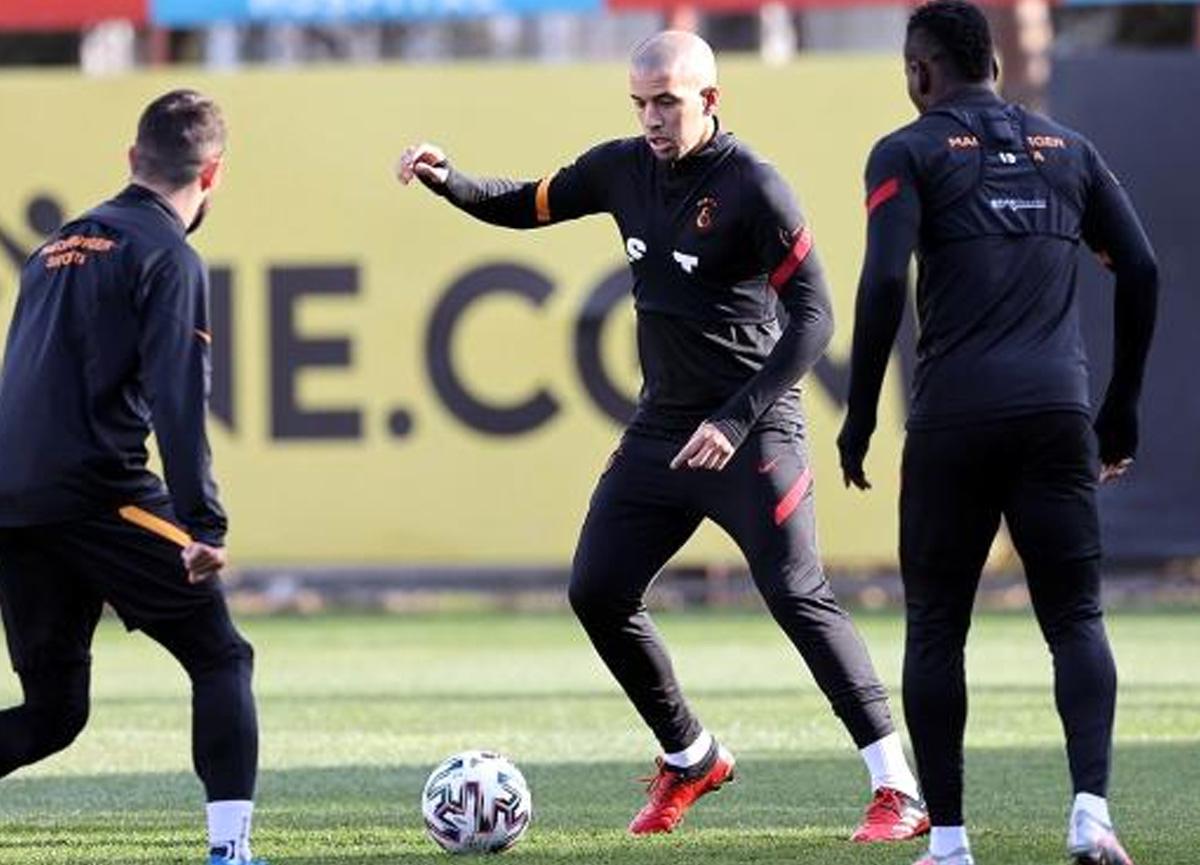 Milli takımdan dönen Galatasaraylı Onyekuru ve Etebo takımla çalıştı