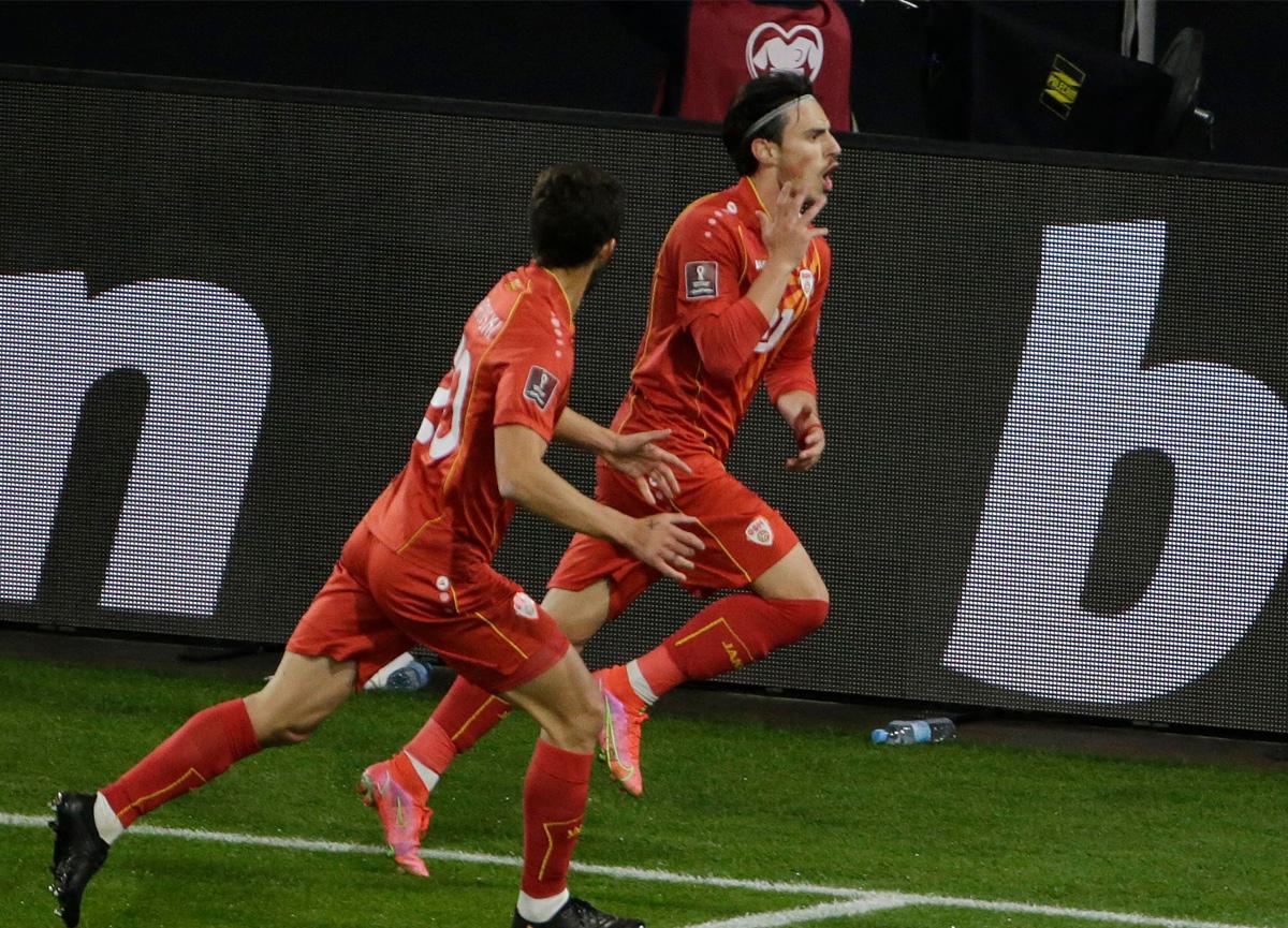 Almanya şokta! Kuzey Makedonya Eljif Elmas ve Pandev'in golleriyle panzerleri yıktı