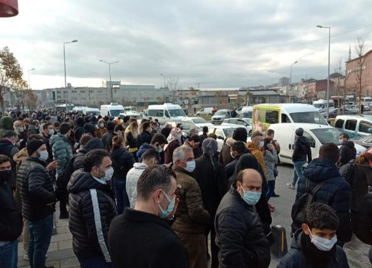 Trafoda yangın çıktı! İstanbul'da metro seferleri durdu
