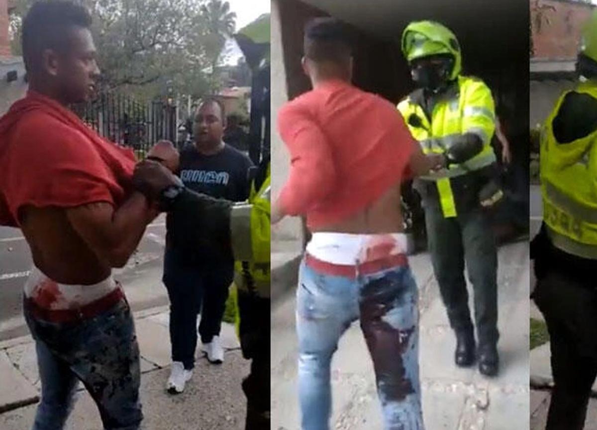 Babasına saldıran Kolombiyalı futbolcu Fredy Guarin kanlar içerisinde gözaltına alındı