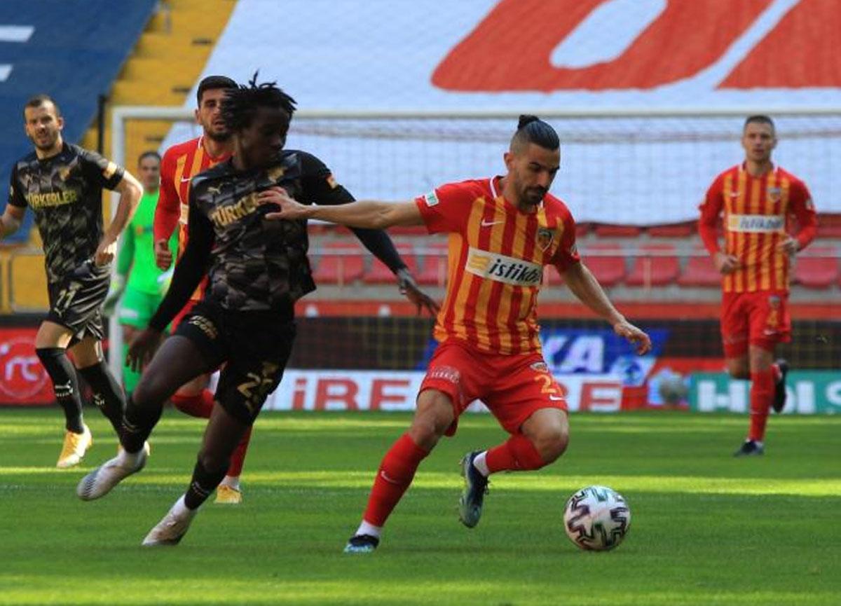Kayserispor 1-1 Göztepe