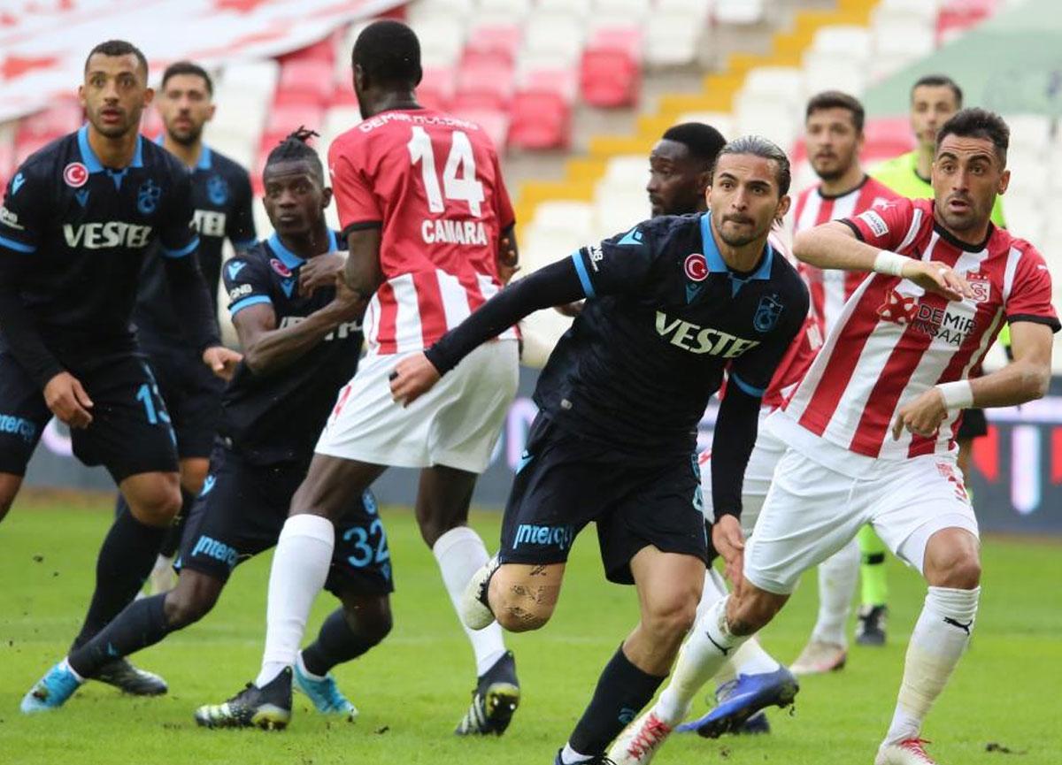 Sivasspor 0-0 Trabzonspor