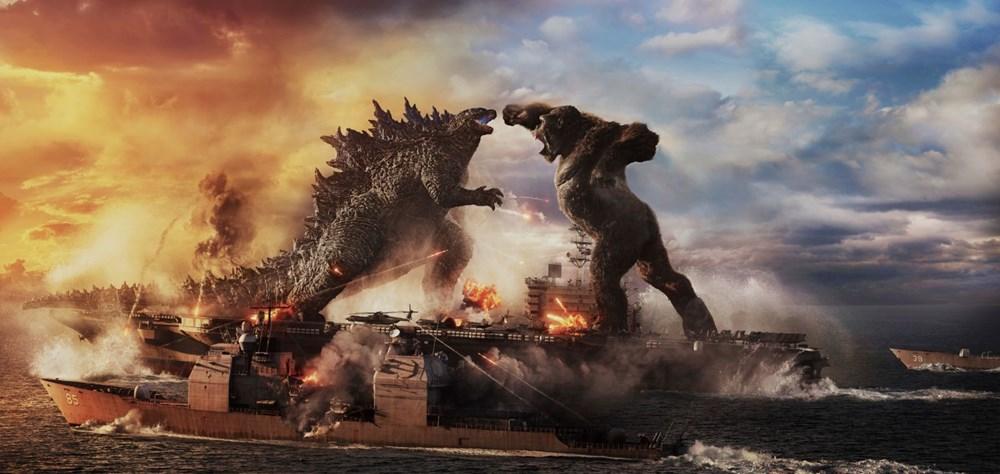 Godzilla vs Kong pandemi dönemi gişe rekoru kırdı