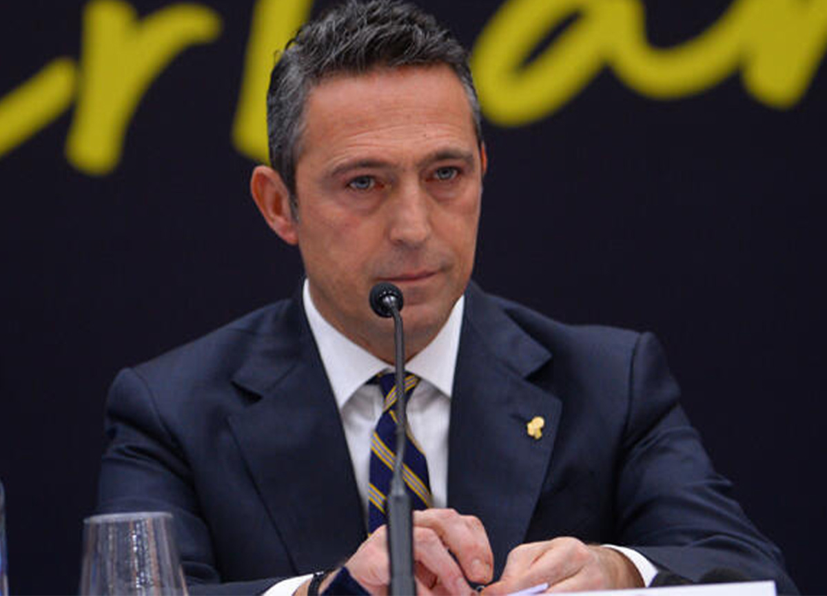 Fenerbahçe Başkanı Ali Koç'un Covid-19 testi pozitif çıktı