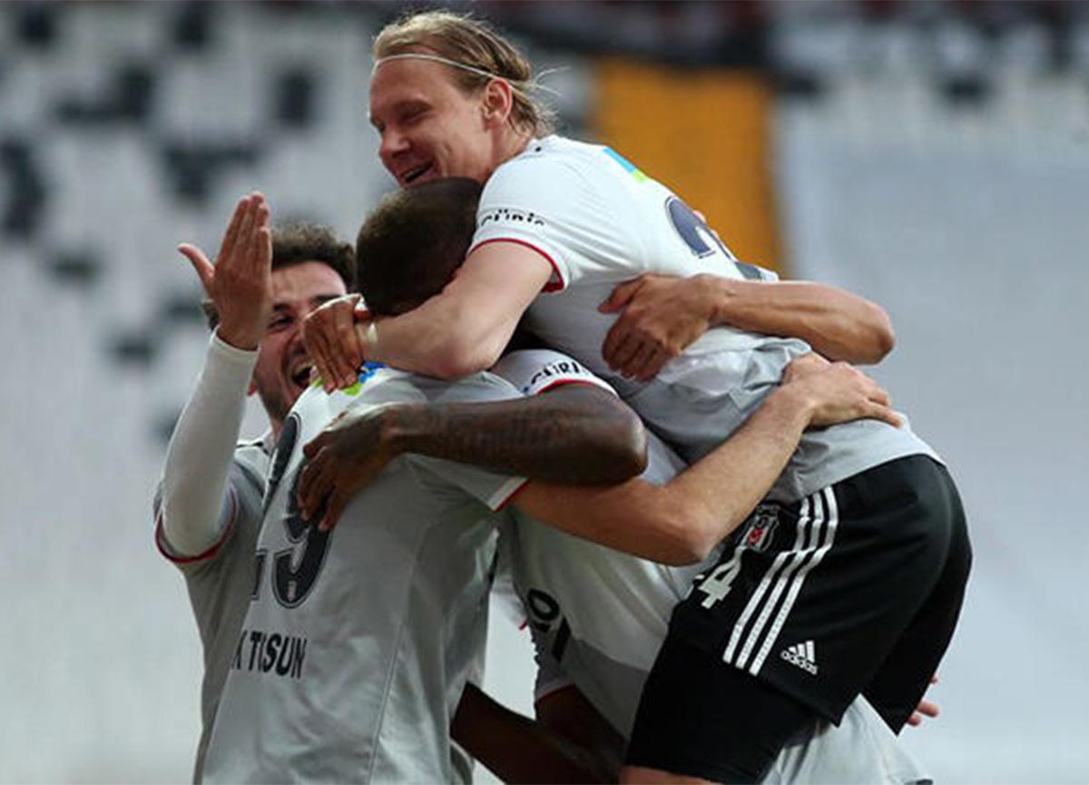 Maç sona erdi! Beşiktaş 3-0 Alanyaspor
