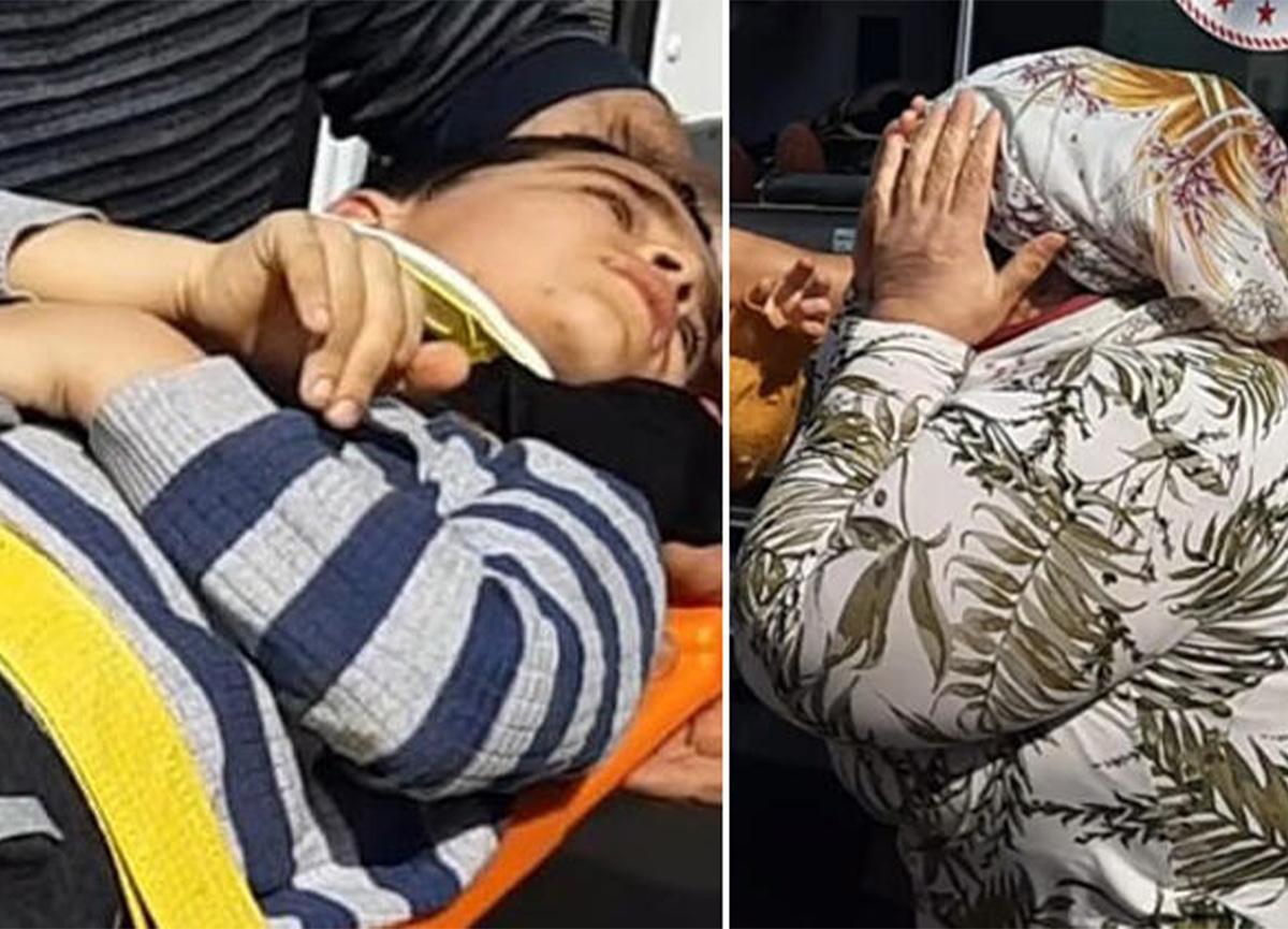 8 yaşındaki Toprak'a otomobil çarptı! Anneannesi gözyaşı döktü