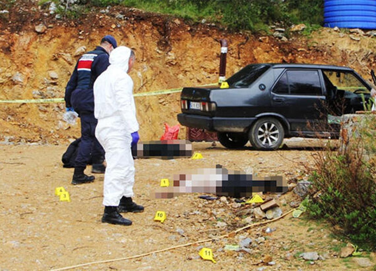 Muğla'da dehşet! Baba ve oğlu tabancayla vurularak öldürüldü
