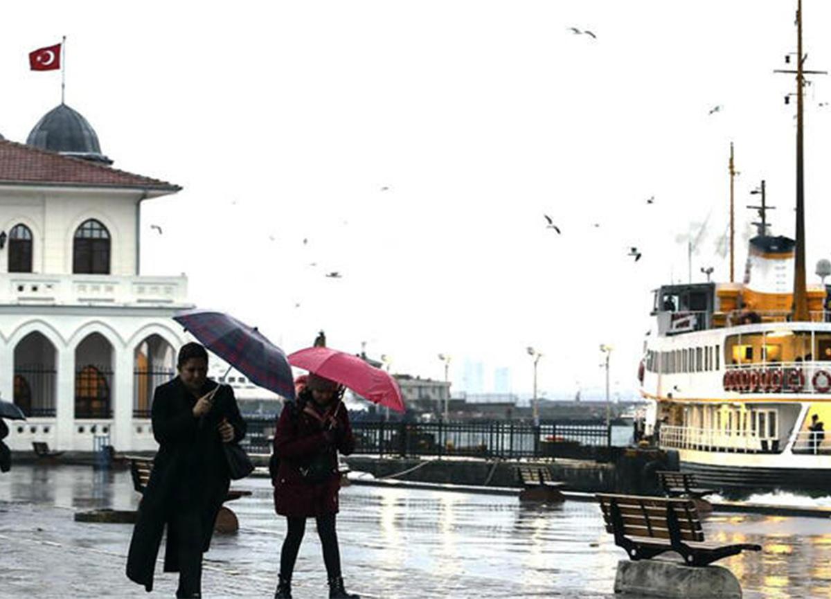 Meteoroloji ve AFAD'dan İstanbul için kuvvetli yağış uyarısı